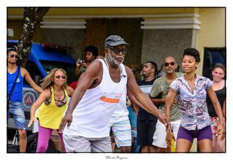 mestre king dança afro