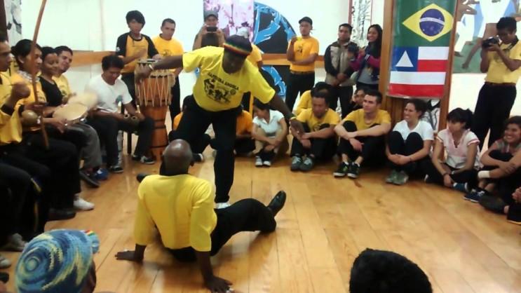 mestres de capoeira