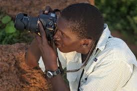 fotógrafo negro