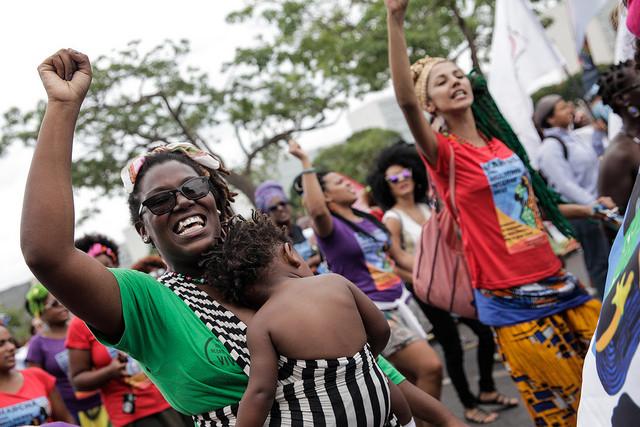 marcha das mulheres negra