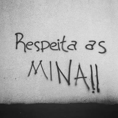 respeite as mina