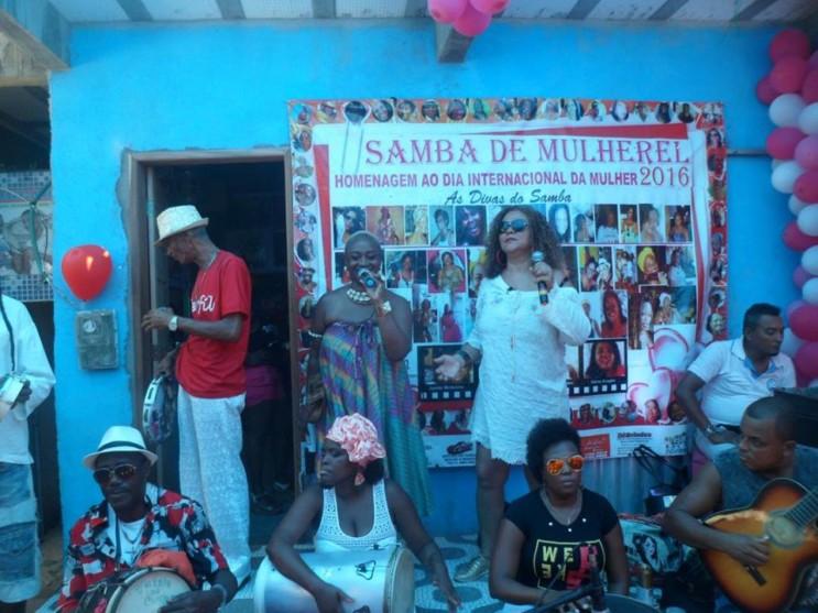 samba de mulheres