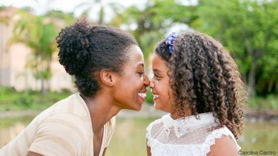 mae e filha negras