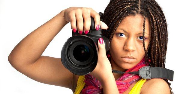 fotógrafa negra