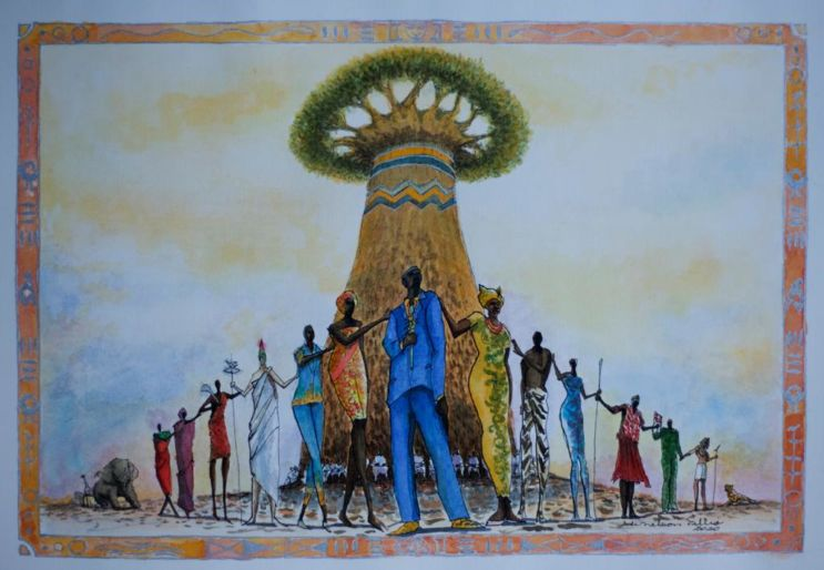 Arte de Preto Afrikas